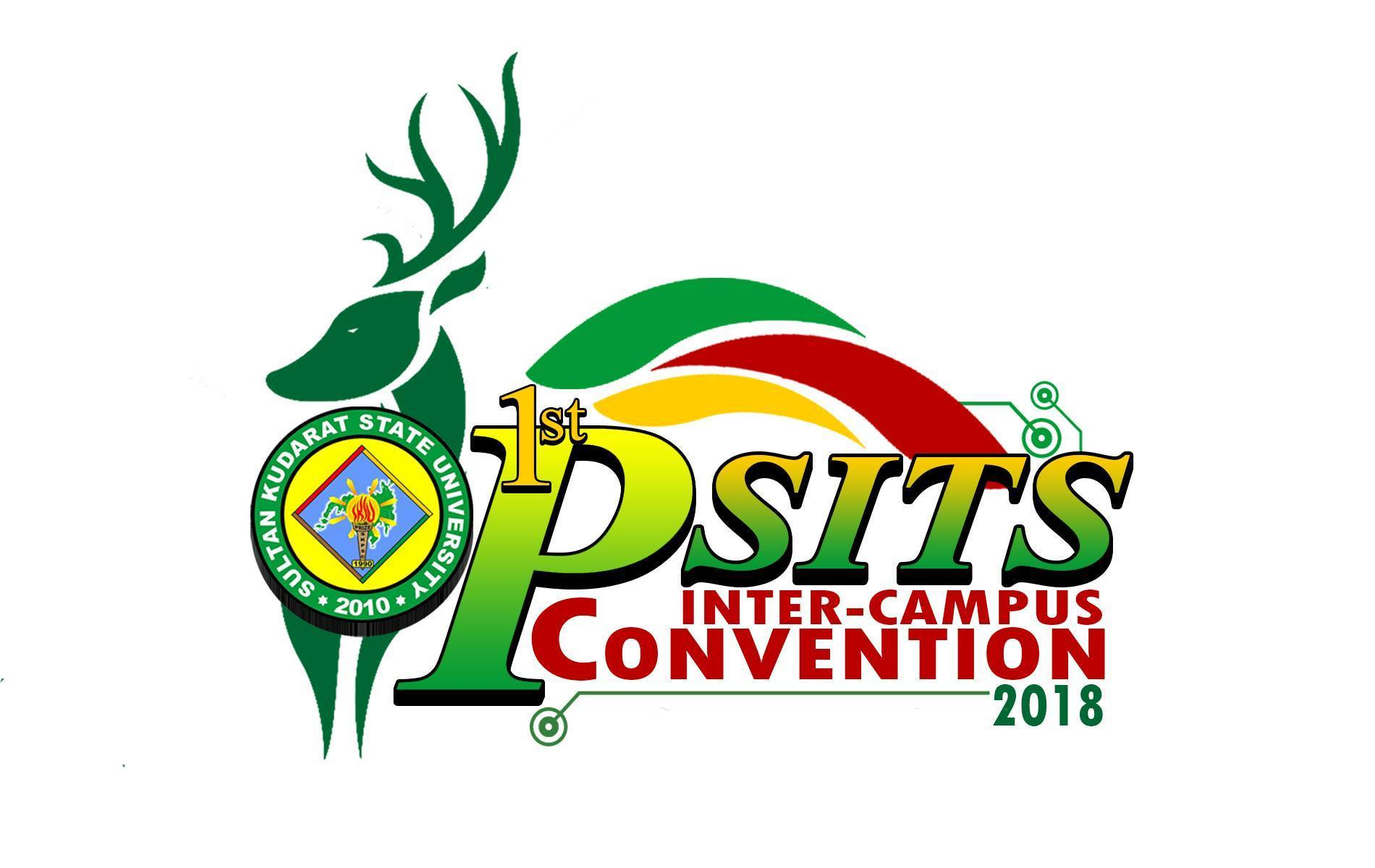 Logo of first PSITS Intercampus Convention of SKSU - Jan 2018